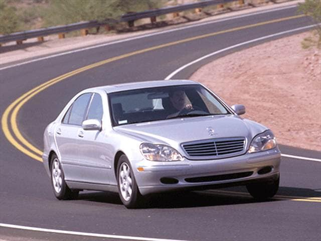 2001 Mercedes Benz S Class S 430 Sedan 4d Used Car Prices Kelley