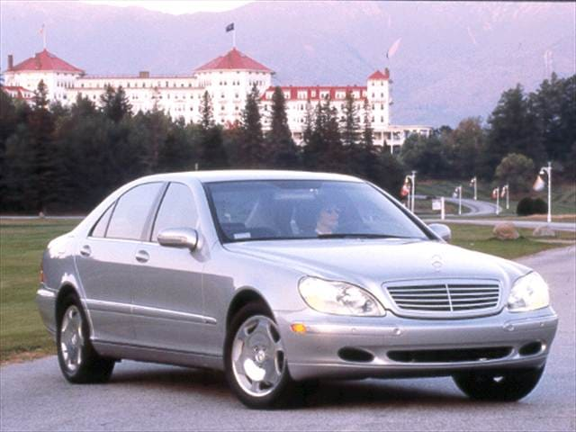 Highest Horsepower Luxury Vehicles of 2001 - 2001 Mercedes-Benz S-Class