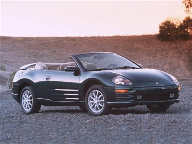 Most Fuel Efficient Convertibles of 2001 - 2001 Mitsubishi Eclipse