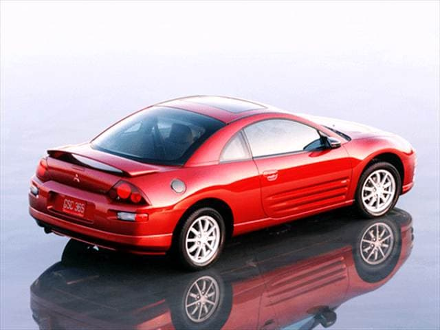 Most Popular Hatchbacks of 2001 - 2001 Mitsubishi Eclipse
