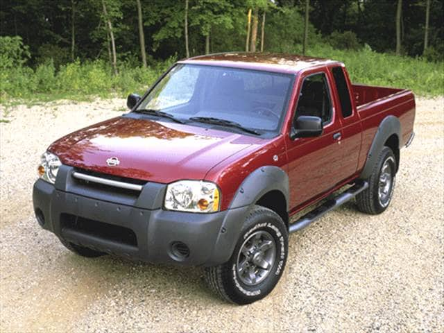 Most Fuel Efficient Trucks of 2001 - 2001 Nissan Frontier King Cab