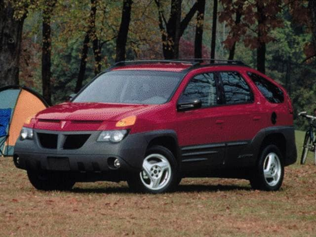 Most Fuel Efficient Crossovers of 2001 - 2001 Pontiac Aztek