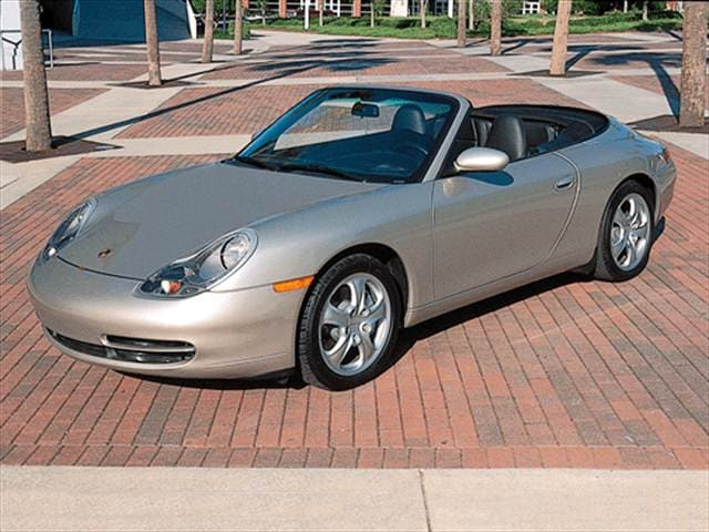 Top Consumer Rated Luxury Vehicles of 2001 - 2001 Porsche 911