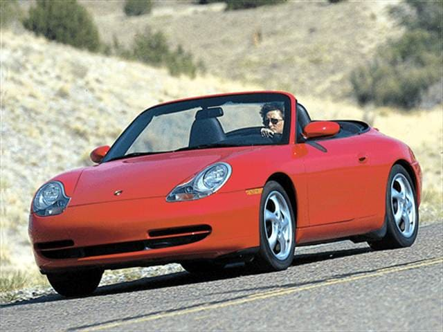 Top Consumer Rated Convertibles of 2001 - 2001 Porsche 911