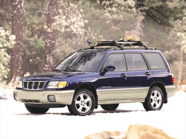 Most Fuel Efficient SUVs of 2001 - 2001 Subaru Forester
