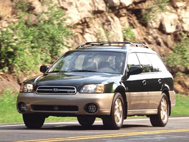 Highest Horsepower Wagons of 2001 - 2001 Subaru Outback
