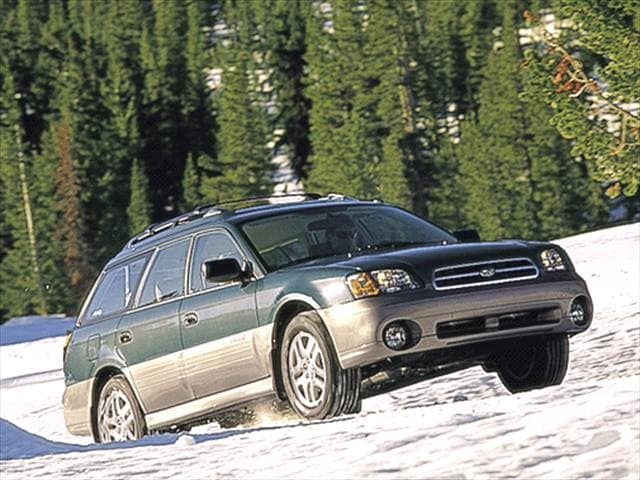 Most Fuel Efficient Wagons of 2001 - 2001 Subaru Outback