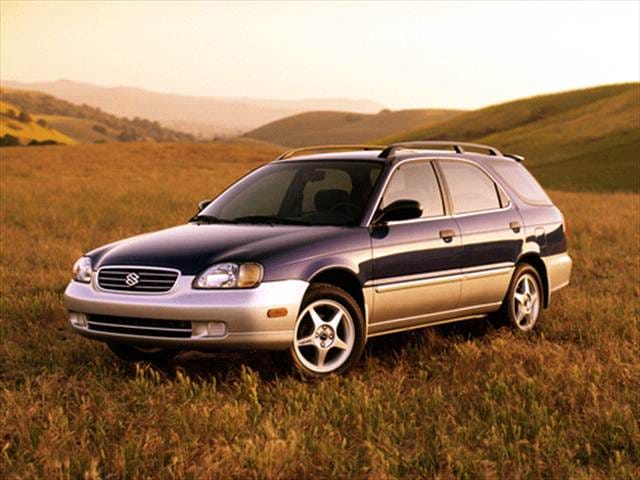 Most Fuel Efficient Wagons of 2001 - 2001 Suzuki Esteem