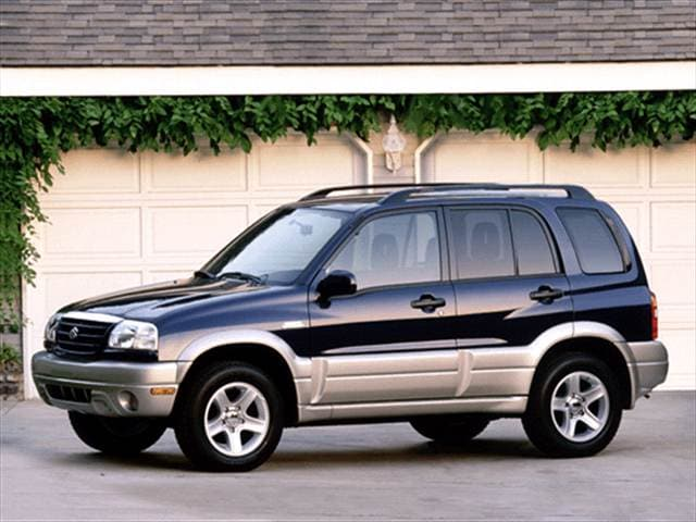 Most Fuel Efficient SUVs of 2001 - 2001 Suzuki Grand Vitara