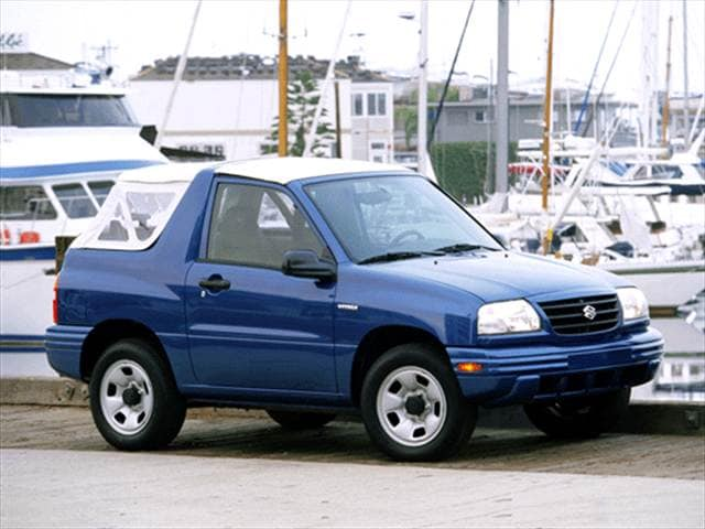 Most Fuel Efficient Crossovers of 2001 - 2001 Suzuki Vitara