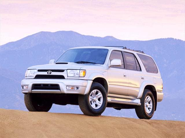 Top Consumer Rated SUVs of 2001 - 2001 Toyota 4Runner