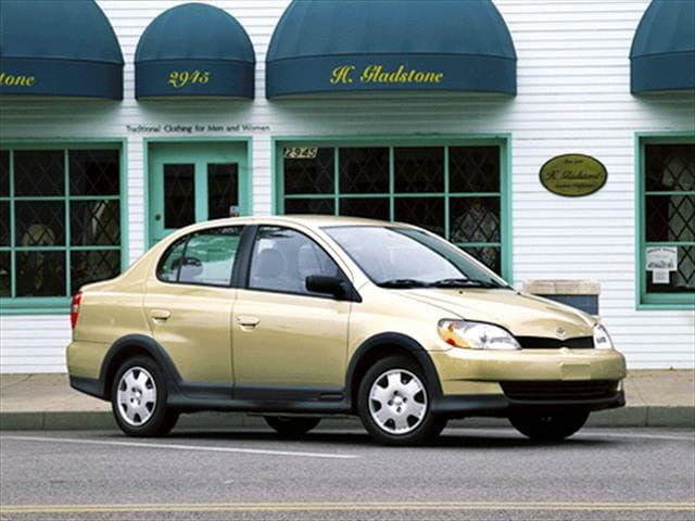 Most Fuel Efficient Sedans of 2001 - 2001 Toyota Echo