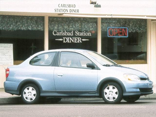 Most Fuel Efficient Coupes of 2001 - 2001 Toyota Echo