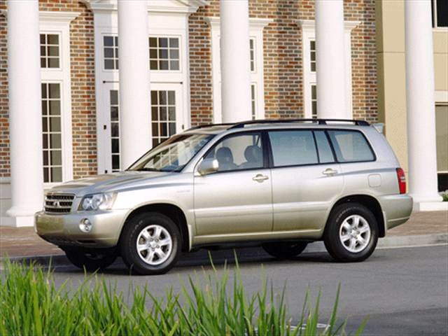 Top Consumer Rated SUVs of 2001 - 2001 Toyota Highlander