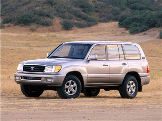 Top Consumer Rated SUVs of 2001 - 2001 Toyota Land Cruiser