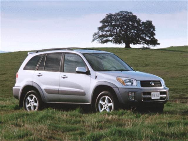 Most Popular Crossovers of 2001 - 2001 Toyota RAV4