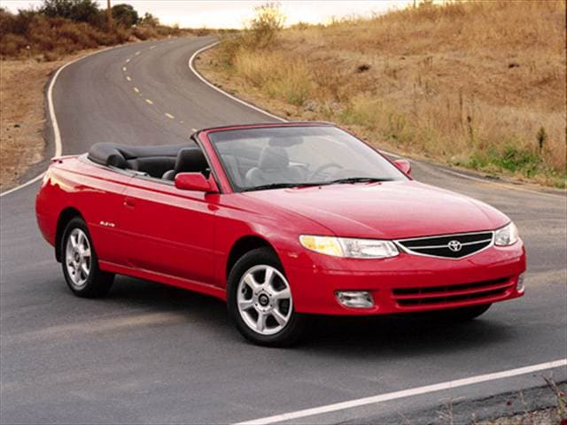 Most Popular Convertibles of 2001 - 2001 Toyota Solara