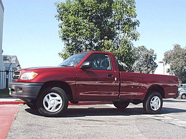 Top Consumer Rated Trucks of 2001 - 2001 Toyota Tundra Regular Cab