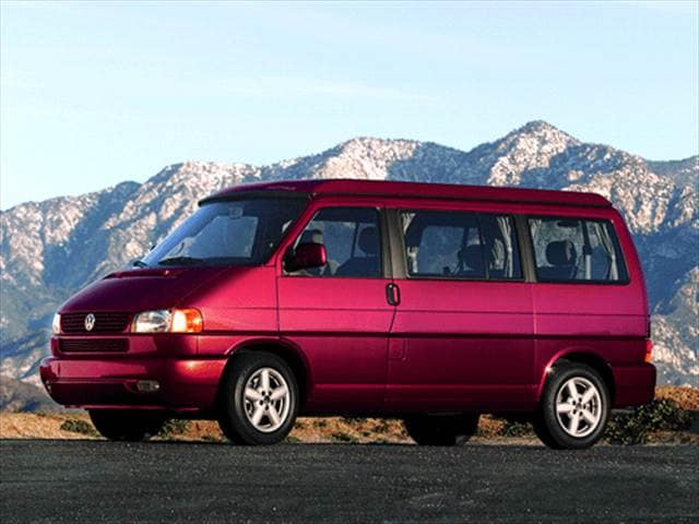 Top Consumer Rated Vans/Minivans of 2001 - 2001 Volkswagen Eurovan
