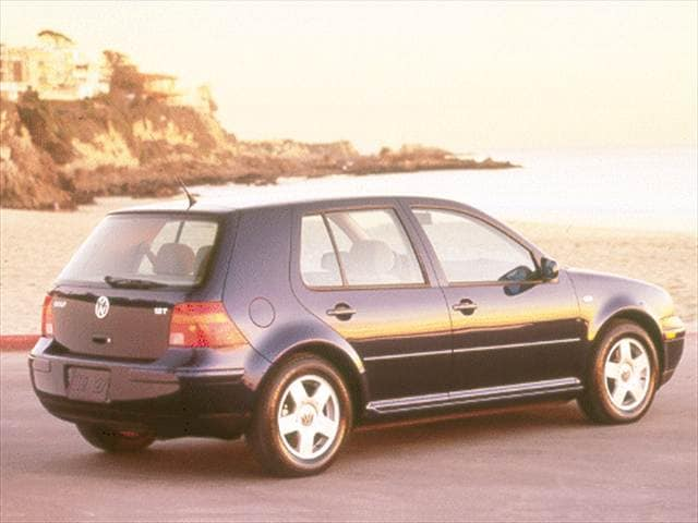 Most Fuel Efficient Sedans of 2001 - 2001 Volkswagen Golf