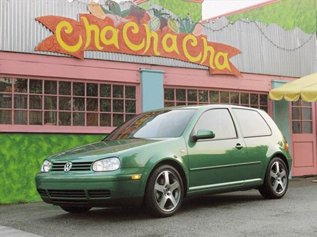 Highest Horsepower Hatchbacks of 2001 - 2001 Volkswagen GTI