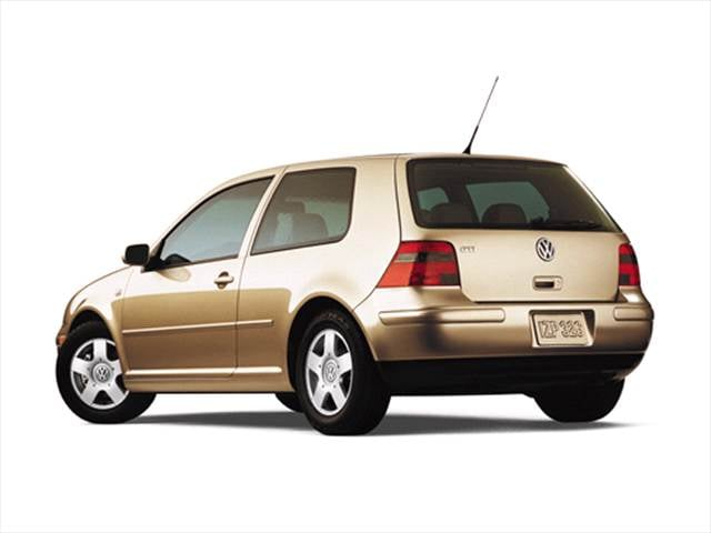 Most Fuel Efficient Hatchbacks of 2001 - 2001 Volkswagen GTI
