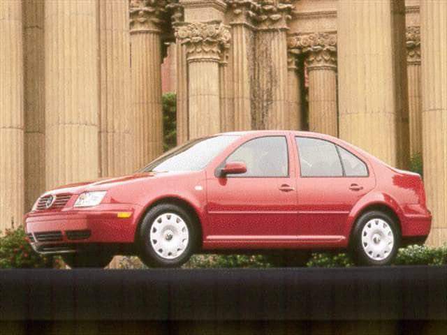 Most Fuel Efficient Sedans of 2001 - 2001 Volkswagen Jetta