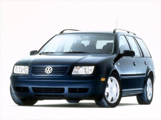 Most Fuel Efficient Wagons of 2001 - 2001 Volkswagen Jetta