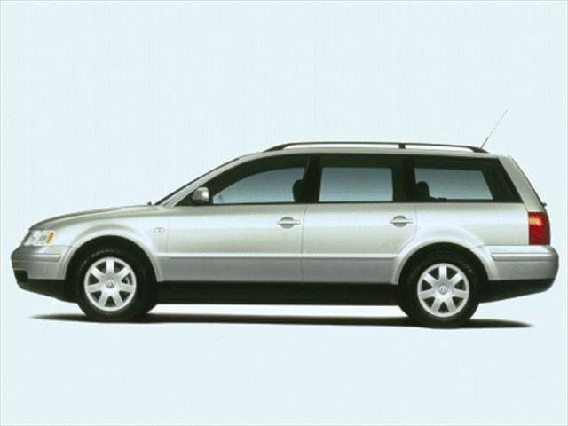 Most Fuel Efficient Wagons of 2001 - 2001 Volkswagen Passat