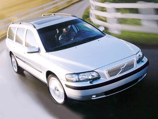 Most Fuel Efficient Wagons of 2001 - 2001 Volvo V70