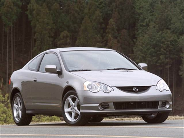 Top Consumer Rated Coupes of 2002 - 2002 Acura RSX