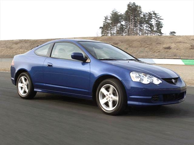 Highest Horsepower Hatchbacks of 2002 - 2002 Acura RSX