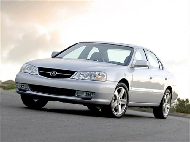 Most Popular Luxury Vehicles of 2002 - 2002 Acura TL