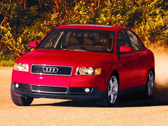Most Popular Luxury Vehicles of 2002 - 2002 Audi A4