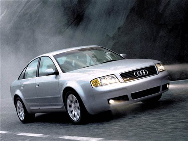 Highest Horsepower Sedans of 2002 - 2002 Audi A6