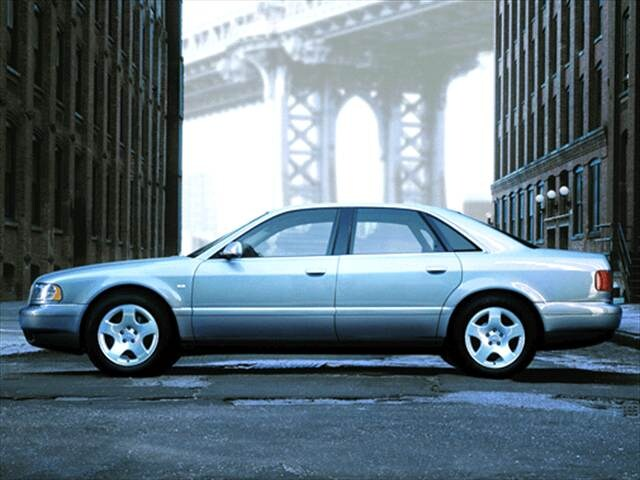 Highest Horsepower Sedans of 2002 - 2002 Audi A8