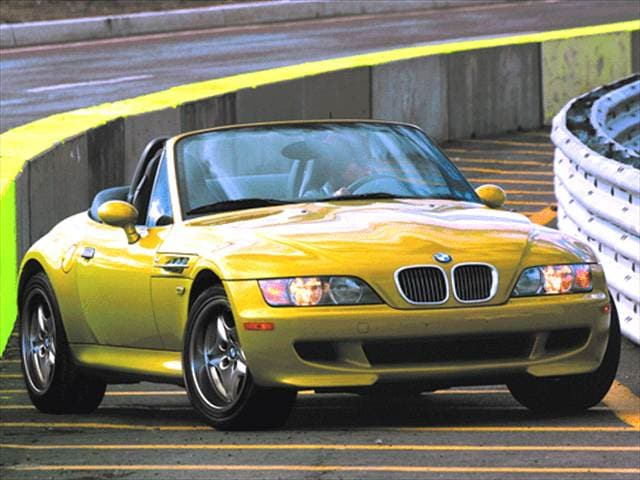 Highest Horsepower Convertibles of 2002 - 2002 BMW M