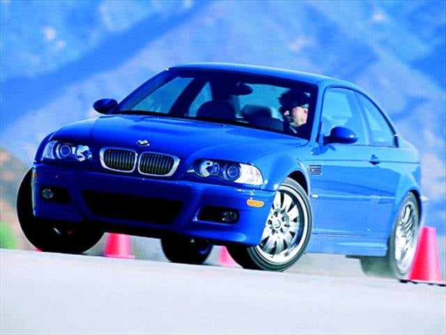 Top Consumer Rated Coupes of 2002 - 2002 BMW M3
