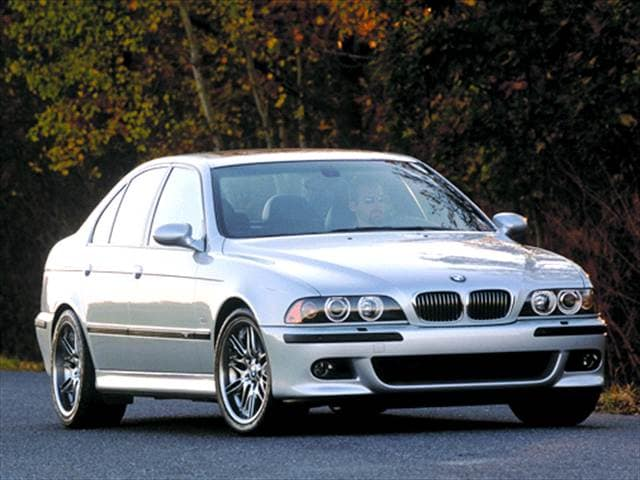 Highest Horsepower Sedans of 2002 - 2002 BMW M5