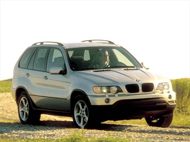 Top Consumer Rated Crossovers of 2002 - 2002 BMW X5