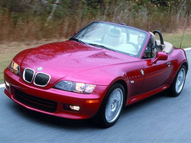 Most Fuel Efficient Convertibles of 2002 - 2002 BMW Z3