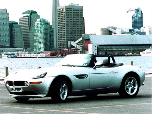 Highest Horsepower Luxury Vehicles of 2002 - 2002 BMW Z8