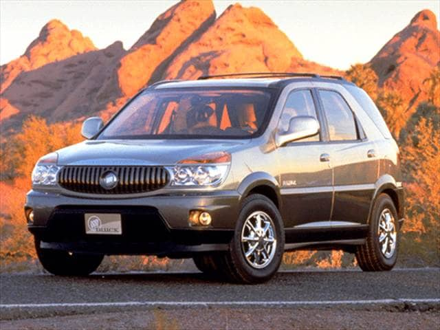 Most Fuel Efficient Crossovers of 2002 - 2002 Buick Rendezvous