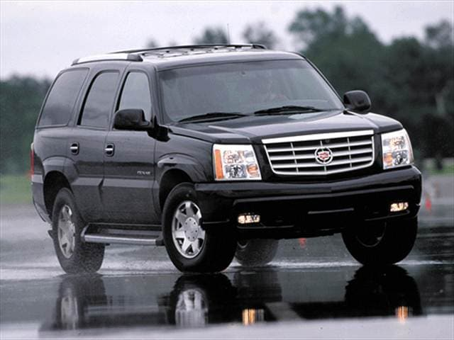 Top Consumer Rated SUVs of 2002 - 2002 Cadillac Escalade
