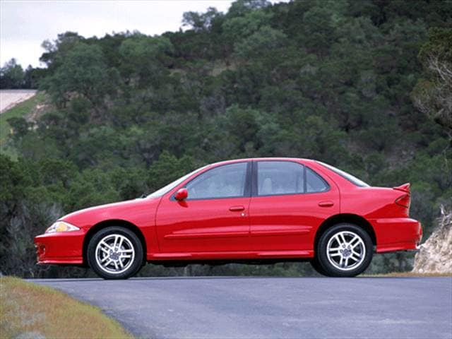 Most Popular Sedans of 2002 - 2002 Chevrolet Cavalier