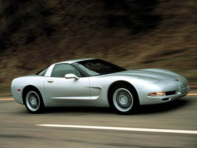 Most Popular Hatchbacks of 2002 - 2002 Chevrolet Corvette