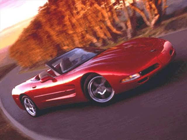 Highest Horsepower Convertibles of 2002 - 2002 Chevrolet Corvette