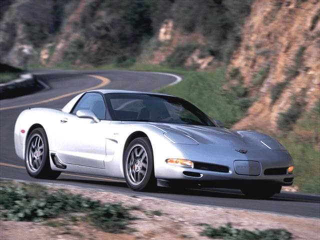Highest Horsepower Coupes of 2002 - 2002 Chevrolet Corvette