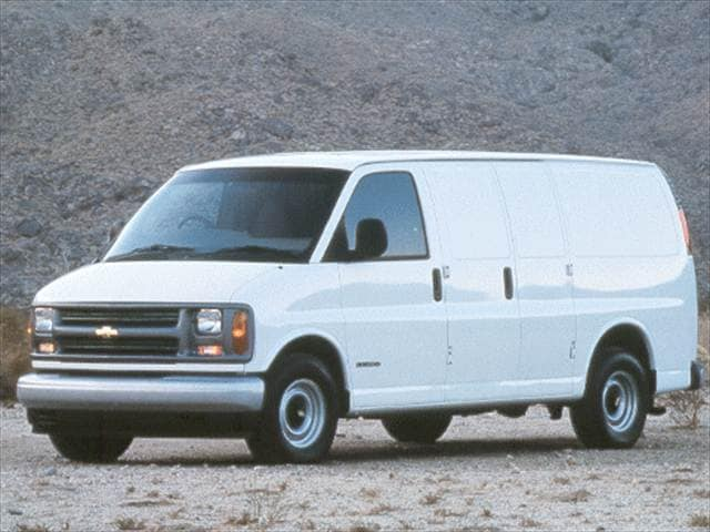 Highest Horsepower Vans/Minivans of 2002 - 2002 Chevrolet Express 3500 Cargo