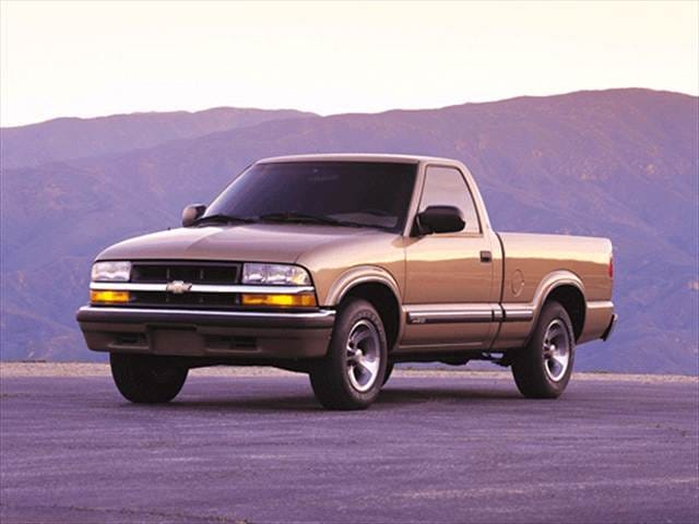 Most Fuel Efficient Trucks of 2002 - 2002 Chevrolet S10 Regular Cab